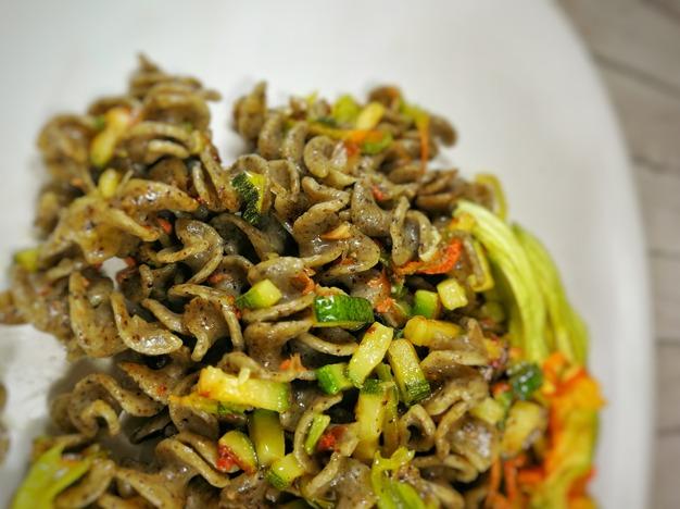 Eliche di canapa e riso integrale