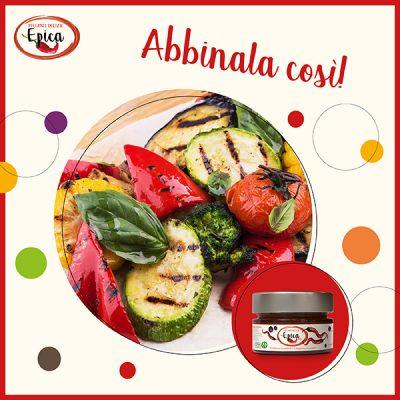 Epica Red abbinamenti verdure grigliate