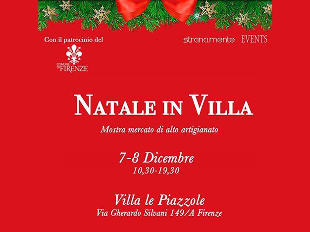 Natale in Villa – 7 – 8 dicembre 2019 (Firenze)