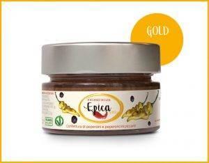 EPICA GOLD marmellata di peperoncini fatalii e habanero orange