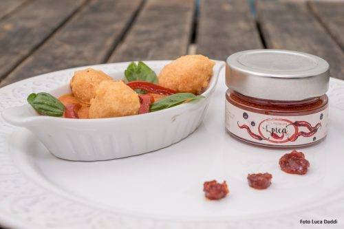Quenelles di lenticchie rosse con Epica Red