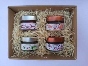confezione regalo marmellate di peperoncino epica 4x125